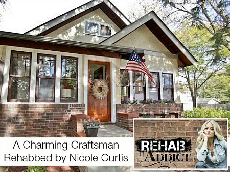 Craftsman Bungalow Featured on Rehab Addict For Sale in MN