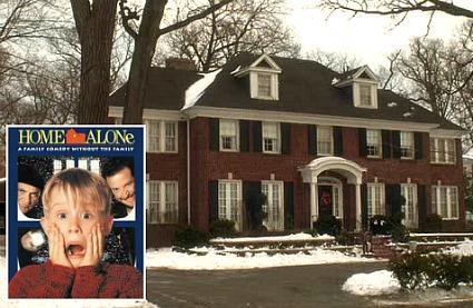 Home Alone movie house Winnetka Illinois